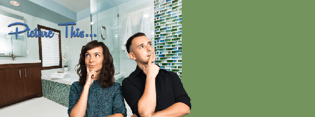 couple dreaming – Reasons to remodel your bathroom - Fort Myers - Richardson Custom Homes